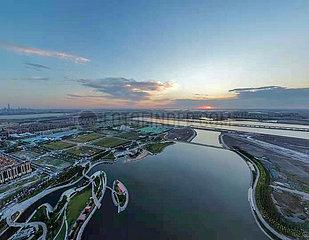 CHINA-TIANJIN-STENLINIE wiederherstellende (CN) CHINA-TIANJIN-STENLINIE wiederherstellende (CN)