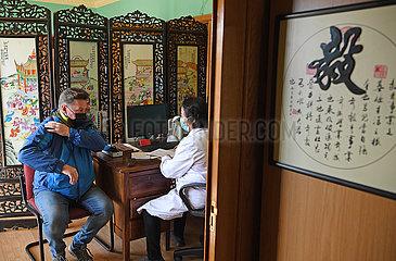 SüDAFRIKA-JOHANNESBURG-Chinesische Medizin