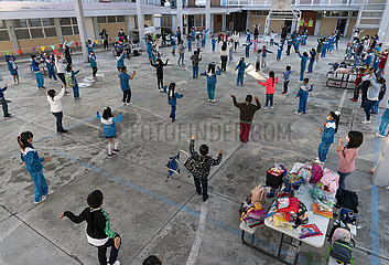 MEXIKO-MEXICO CITY-COVID-19-KLASSEN FORTGESETZT