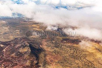 Luftaufnahme von Island   Aerial view of Iceland