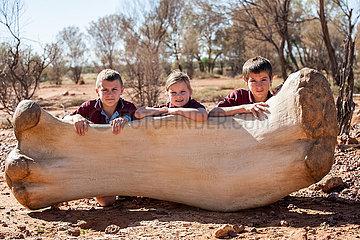 AUSTRALIEN-QUEENS-DINOSAURIER-neue Spezies
