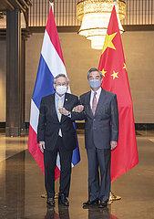 CHINA-CHONGQING-WANG YI-THAILAND-FM-MEETING (CN)