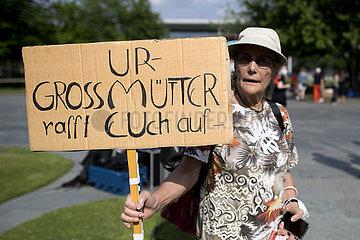 Hitzealarm Protest