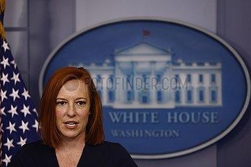US-Washington-D.C.-WHITE HOUSE-BRIEFING