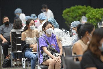 THAILAND-COVID-19-MASS IMPFUNG