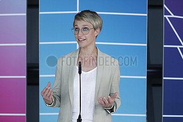Pressekonferenz der CDU-Bundestagsfraktion  Reichstag  8. Juni 2021