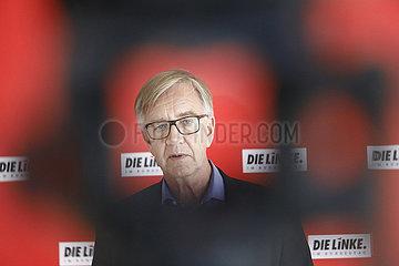Pressekonferenz der Bundestagsfraktion der Partei Die Linke   Reichstag  8. Juni 2021