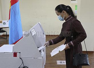 MONGOLIA-PRESIDENTIAL ELECTION-KICK OFF