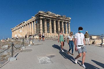 GREECE-ATHENS-ACROPOLIS