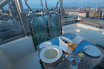Ungarn-Budapest-DINNER ON RIESENRAD