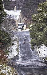AUSTRALIEN-SYDNEY-WEATHER-SNOW AUSTRALIA-SYDNEY-WEATHER-SNOW