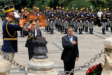 ROMANIA-BUCHAREST-HEROES' DAY
