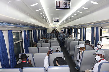 NIGERIA-LAGOS-CHINA-ASSISTED RAILWAY-COMMERCIAL OPERATION