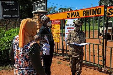 UGANDA-NAKASONGOLA-RHINO SANCTUARY-REOPENED
