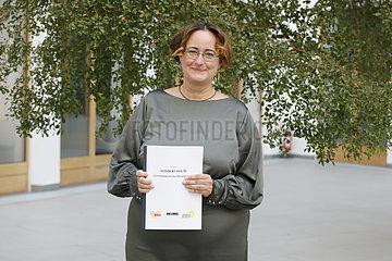 Irene Mihalic  Martina Renner  Benjamin Strasser - Bundespressekonferenz zum Thema: Gemeinsames Sondervotum zum Fall Amri
