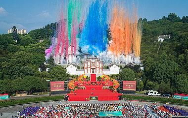 CHINA-HUBEI-Zigui-Drachenboot-Festival (CN)