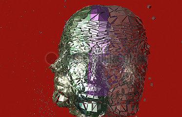 CGI illustration human