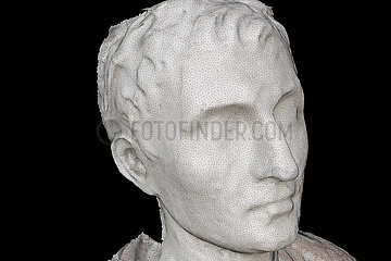 CGI-Visualisierung: Portrait: Caligula