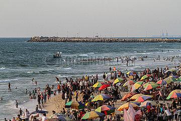 MIDEAST-GAZA CITY-DAILY LIFE