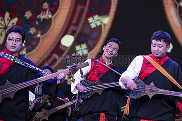 CHINA-TIBET-LHASA-CULTRAL AND NATURAL HERITAGE DAY-PERFORMANCE (CN)
