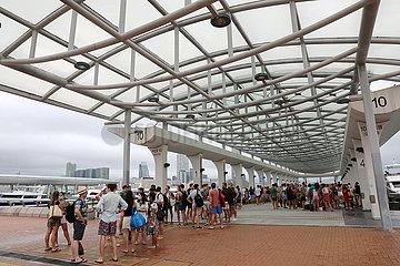 CHINA-HONG KONG-DRAGON BOAT FESTIVAL (CN)