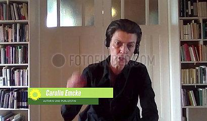 Carolin Emcke - Gruenen Parteitag