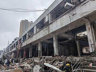 (SPOT NEWS) CHINA-HUBEI-SHIYAN-Gasexplosions- (CN)