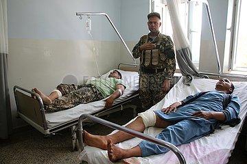AFGHANISTAN-MAZAR-I-SHARIF-BOMB ATTACK