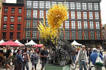 US--NEW YORK-FLOWER FESTIVAL