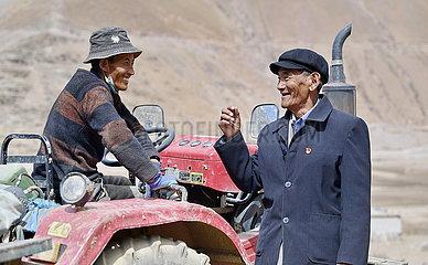 (InTibet) CHINA-TIBET-FORMER SERF-NEW LIFE-MIGMAR (CN)