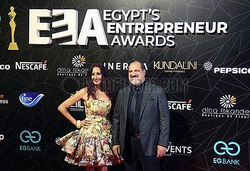 ÄGYPTEN-KAIRO-UNTERNEHMER AWARDS-VERLEIHUNG