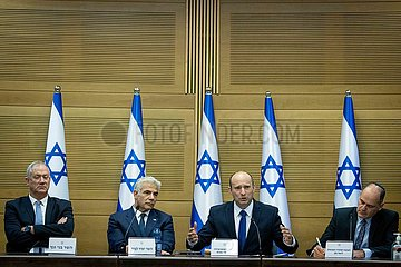 MIDEAST-JERUSALEM-ISRAEL-Regierungs-Kabinettssitzung