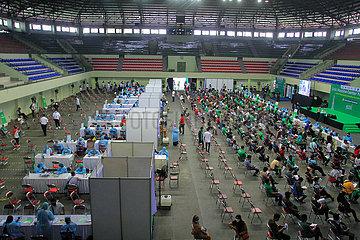 INDONESIA-COVID-19-VACCINATION