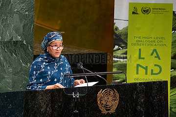 UN-GENERAL ASSEMBLY-HIGH-LEVEL DIALOGUE-UNSUSTAINABLE AGRICULTURE-URGENT ACTION
