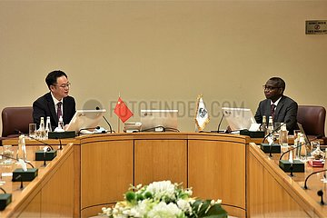 SAUDI-ARABIEN-JEDDAH-CHINA-ISDB-GESUNDHEITSWESEN LABORATORIES-ABKOMMEN-SIGNING