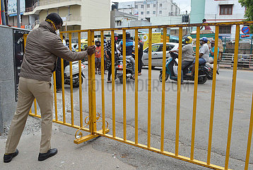INDIA-BANGALORE-COVID-19-LOCKDOWN RESTRICTIONS-RELAXATION