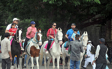 INDIA-SHIMLA-TOURISTS