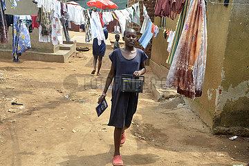 UGANDA-KAMPALA-COVID-19-RADIO LESSONS FOR PRIMARY SCHOOL STUDENTS