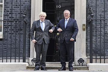 BRITAIN-LONDON-AUSTRALIA-FREE TRADE DEAL