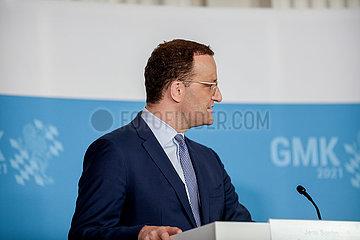 Pressekonferenz zur Gesundheitsministerkonferenz in München