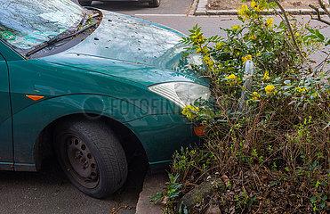 Berlin  Deutschland  Mitte -Parkplatzprobleme