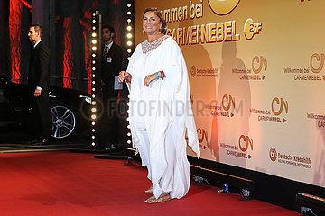 ZDF Benefizgala zugensten der deutschen Krebshilfe Live Show Willkommen bei Carmen Nebel aus dem Velodrom in Berlin