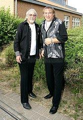 Karl-Heinz Ulrich und Bernd Ulrich (Amigos DEU) Fernsehshow MDR Live Wunschkonzert Musik fuer Sie