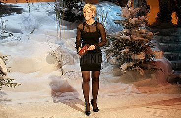 Saengerin Helene Fischer - TV - Aufzeichnung Weihnachten bei uns in der Stadthalle Chemnitz