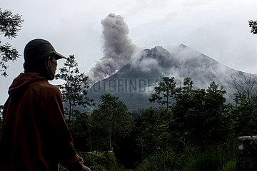 INDONESIA-YOGYAKARTA-MOUNT MERAPI