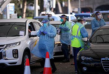 AUSTRALIA-SYDNEY-COVID 19-LOCALLY ACQUIRED CASES
