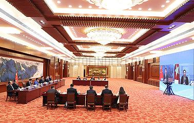 CHINA-BEIJING-LI ZHANSHU-VIETNAM-TALKS (CN)