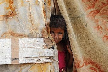 YEMEN-HAJJAH-IDP CAMP