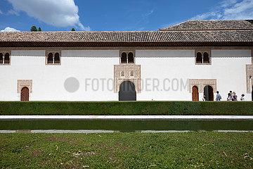 SPANIEN-GRANADA-Alhambra-Palast