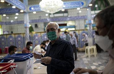 IRAN-TEHRAN-PRESIDENTIAL ELECTION